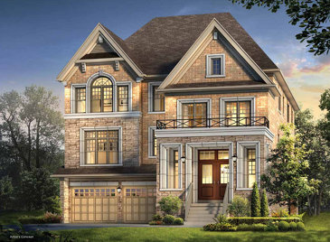 The Brahms new home model plan at the Encore2 by Gold Park Homes in Brampton