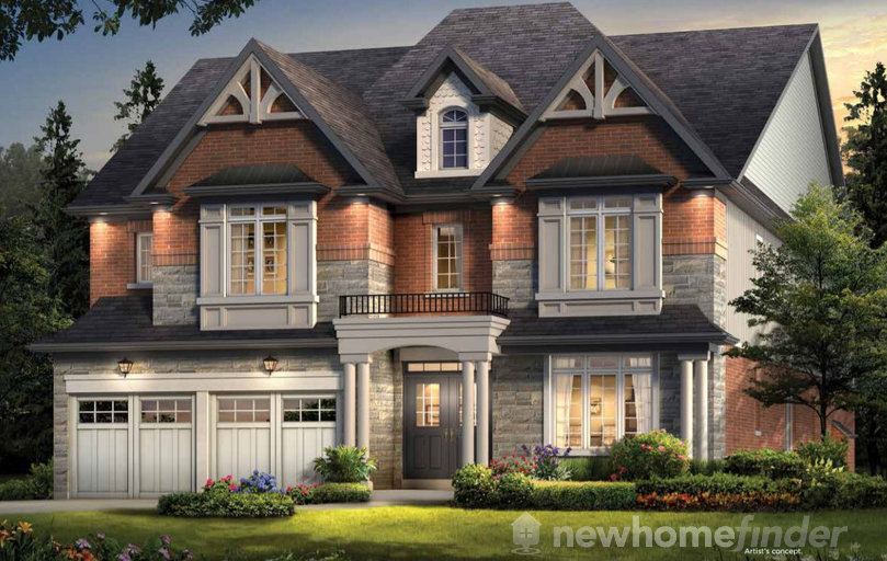 Stoneview floor plan at Riverwalk by Gold Park Homes in Angus, Ontario