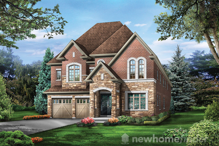 Emerald floor plan at The Estates of Emerald Woods by Regal Crest Homes in Brampton, Ontario