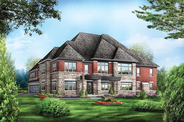 The Starwood new home model plan at the The Estates of Emerald Woods by Regal Crest Homes in Brampton
