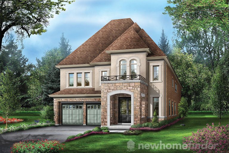 Swan Valley floor plan at Vales of the Humber Estates by Regal Crest Homes in Brampton, Ontario