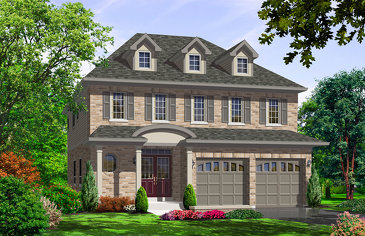 The Windsor new home model plan at the Northglen by Highcastle Homes in Clarington