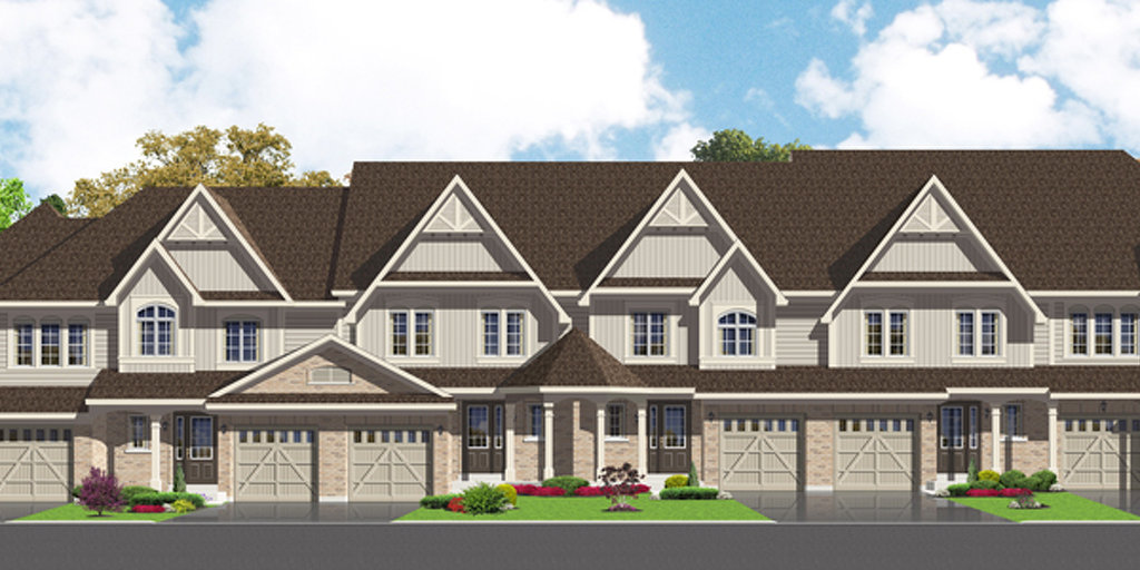 Preston floor plan at Northglen by Highcastle Homes in Clarington, Ontario