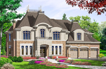 The Rosewood new home model plan at the Riverwalk (HH) by Highcastle Homes in Castlemore