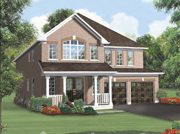 The Spring 5 E4 new home model plan at the Wellington Crowne by Springtown Homes in Brampton