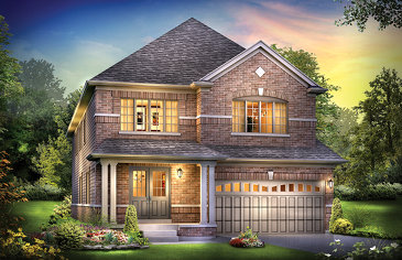 The Glacier new home model plan at the Edgewood Greens by Flato Developments in Dundalk