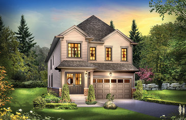 The Logan new home model plan at the Edgewood Greens by Flato Developments in Dundalk