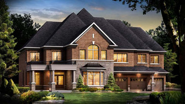 The Spruce new home model plan at the Vales of Humber (RB) by Red Berry Homes in Brampton