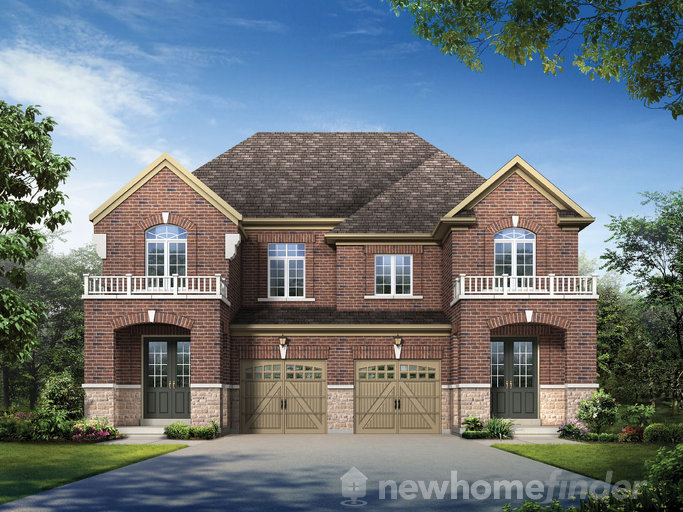 Arrow floor plan at Credit Woods by Stanford Homes in Mississauga, Ontario