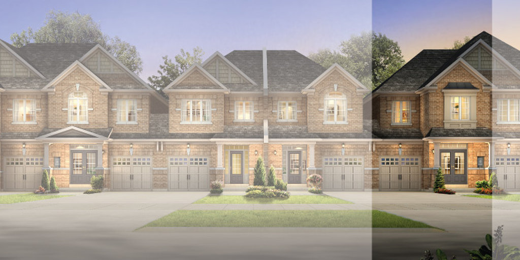 Walnut floor plan at Amber Woods by Stanford Homes in Brampton, Ontario