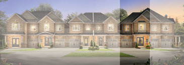 The Walnut new home model plan at the Amber Woods by Stanford Homes in Brampton