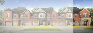 The Melrose new home model plan at the Amber Woods by Stanford Homes in Brampton