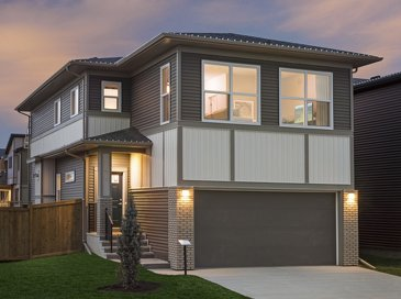 The Garnet new home model plan at the Walden (Ex) by Excel Homes in Calgary
