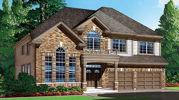 The Platina new home model plan at the Shadow Ridge by Phoenix Homes in Greely