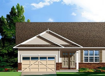 The Lyra new home model plan at the Shadow Ridge by Phoenix Homes in Greely