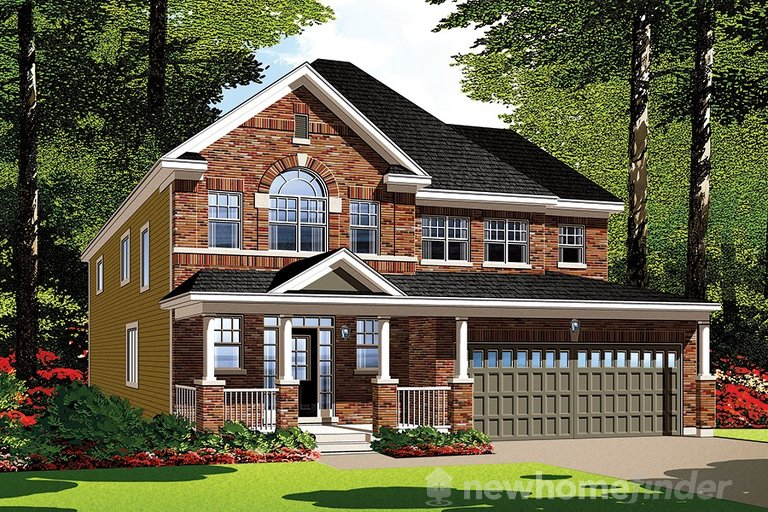 Sandpiper floor plan at Summerside West by Mattamy Homes in Orléans, Ontario