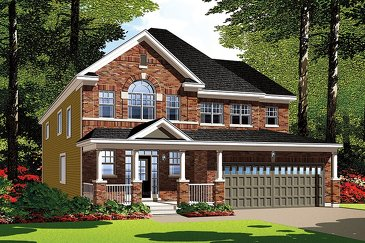 The Sandpiper new home model plan at the Summerside West by Mattamy Homes in Orléans