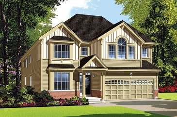 The Walnut new home model plan at the Summerside West by Mattamy Homes in Orléans