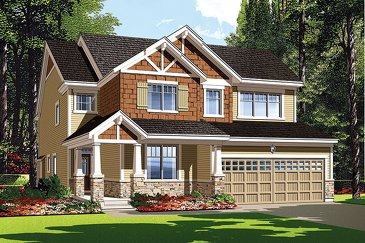 The Southhampton new home model plan at the Half Moon Bay by Mattamy Homes in Barrhaven
