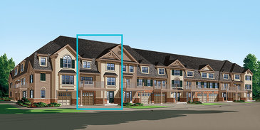 The Berryhurst new home model plan at the Half Moon Bay by Mattamy Homes in Barrhaven
