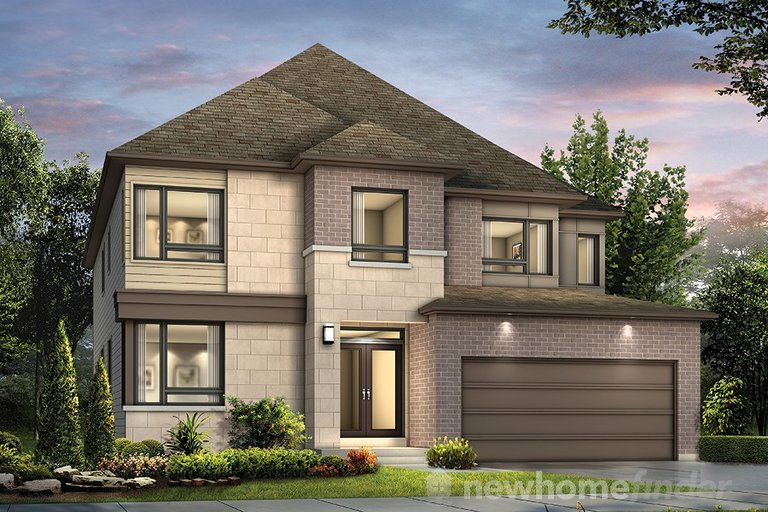 Barcelona floor plan at Traditions II by Mattamy Homes in Stittsville, Ontario