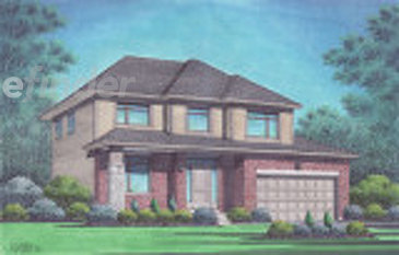The Linda new home model plan at the Richmond Gate by Talos Homes in Richmond