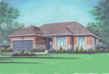 The Brampton new home model plan at the Richmond Gate by Talos Homes in Richmond