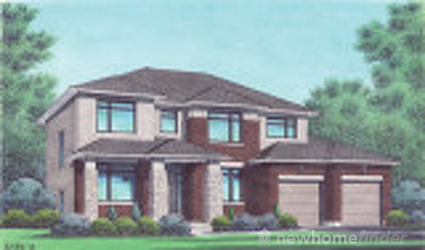 Dahlia floor plan at Richmond Gate by Talos Homes in Richmond, Ontario