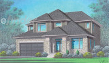 The Marisa new home model plan at the Richmond Gate by Talos Homes in Richmond