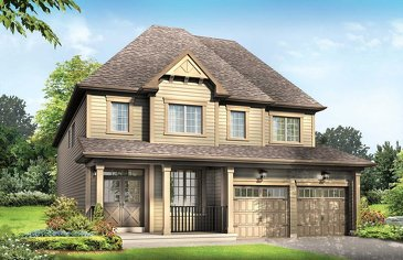 The Pandora new home model plan at the Imagine by Empire Communities in Niagara Falls