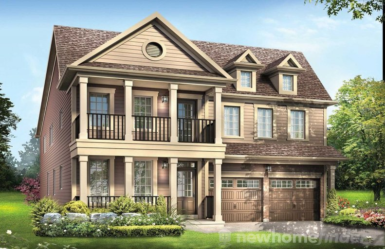 Featherstone floor plan at Imagine by Empire Communities in Niagara Falls, Ontario