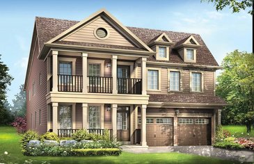 The Featherstone new home model plan at the Imagine by Empire Communities in Niagara Falls