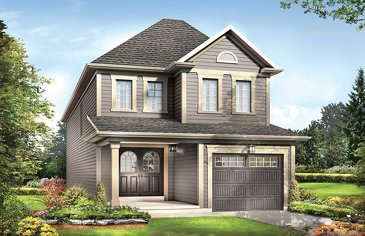 The Excalibur new home model plan at the Imagine by Empire Communities in Niagara Falls