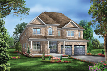 The Easton 1 new home model plan at the Mountainview Heights by Starlane Home Corporation in Waterdown