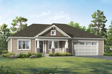 The Birch new home model plan at the White Pines by Mattamy Homes in Bracebridge