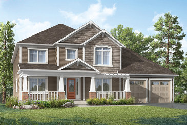 The Tamarack new home model plan at the White Pines by Mattamy Homes in Bracebridge