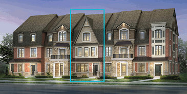 The A Y Jackson new home model plan at the Kleinburg Summit by Mattamy Homes in Vaughan