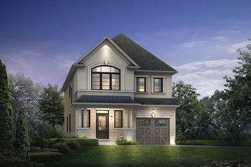 The Heart Lake new home model plan at the Kleinburg Summit by Mattamy Homes in Vaughan
