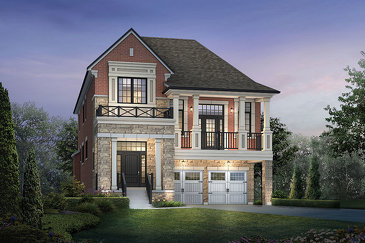 The Tremblay new home model plan at the Kleinburg Summit by Mattamy Homes in Vaughan