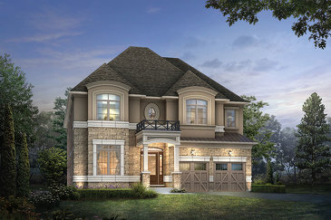 The Osprey new home model plan at the Kleinburg Summit by Mattamy Homes in Vaughan