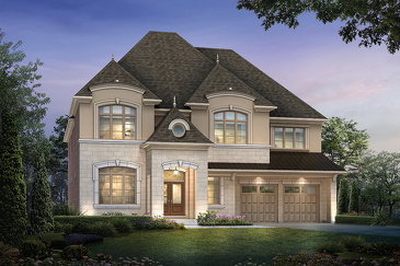 The White Sands new home model plan at the Kleinburg Summit by Mattamy Homes in Vaughan