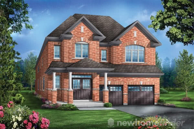 Rosewood 7 floor plan at Mountainview Heights (GP) by Greenpark in Waterdown, Ontario