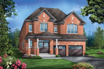 The Rosewood 7 new home model plan at the Mountainview Heights (GP) by Greenpark in Waterdown