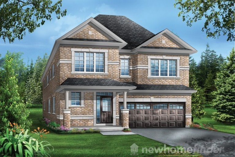Fleming floor plan at Mountainview Heights (GP) by Greenpark in Waterdown, Ontario