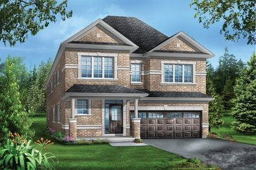 The Fleming new home model plan at the Mountainview Heights (GP) by Greenpark in Waterdown