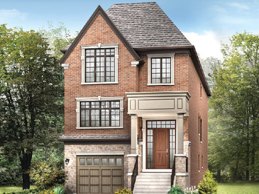 The Fitzgerald new home model plan at the Glen Agar by Minto Communities in Etobicoke