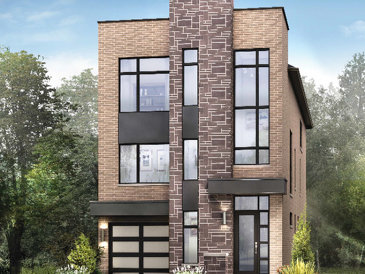 The Fitzroy new home model plan at the Glen Agar by Minto Communities in Etobicoke
