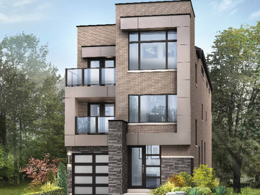 The Fitzsimmon new home model plan at the Glen Agar by Minto Communities in Etobicoke