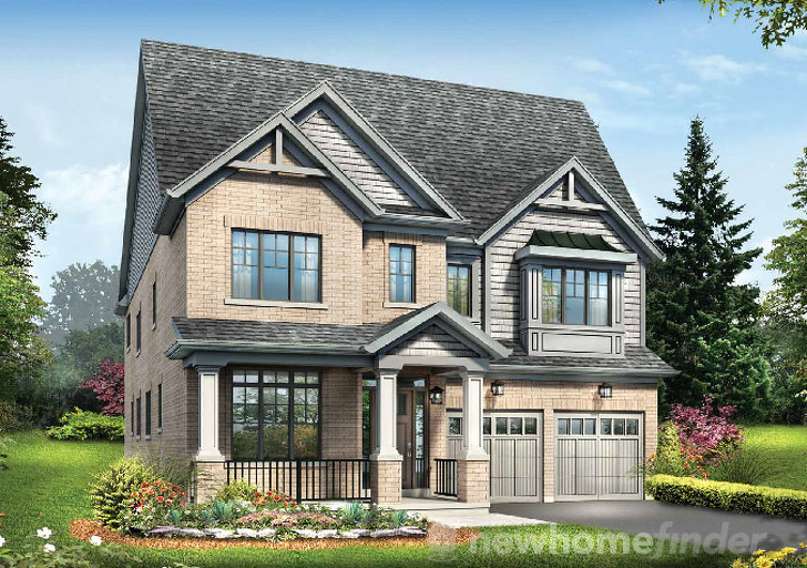 Wentworth floor plan at Ivy Ridge by Minto Communities in Whitby, Ontario