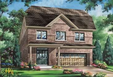 The Snow Owl new home model plan at the Blue Sky by Fieldgate Homes in Whitchurch-Stouffville